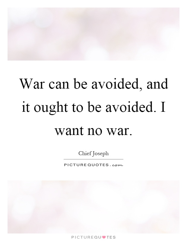 "war can be avoided Nuclear war —can it be avoided ""they themselves will feed and actually lie stretched out, and there will be no one making them tremble"" —zephaniah 3:13."