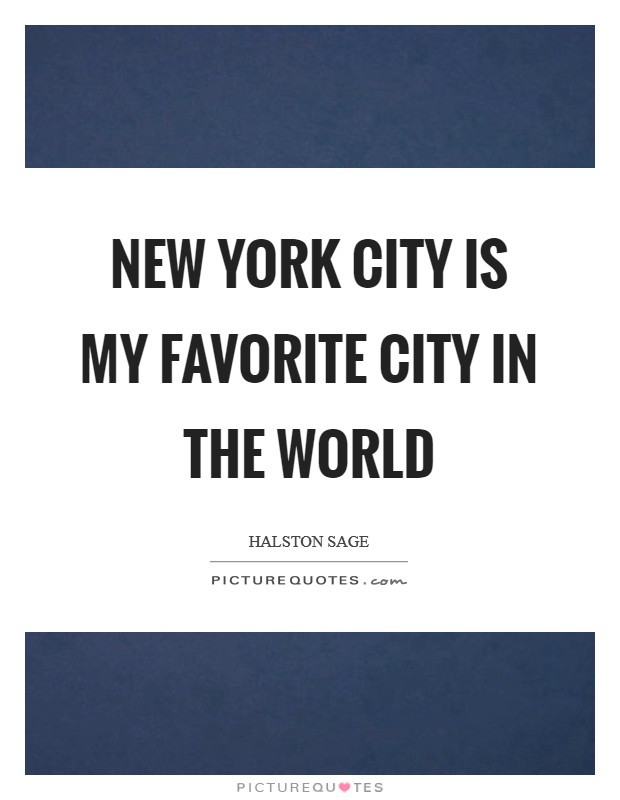 my most loved city new york essay