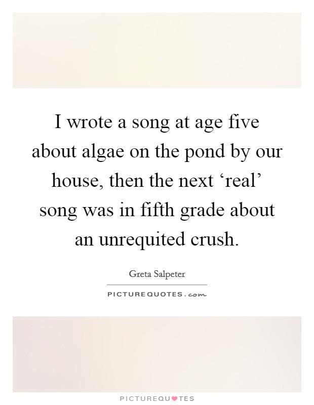Unrequited crush quotes