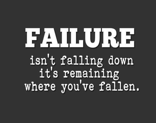 Inspirational Quote About Falling Down 1 Picture Quote #1