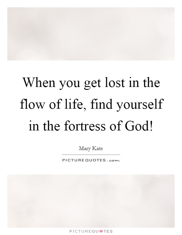 how to find yourself when your lost