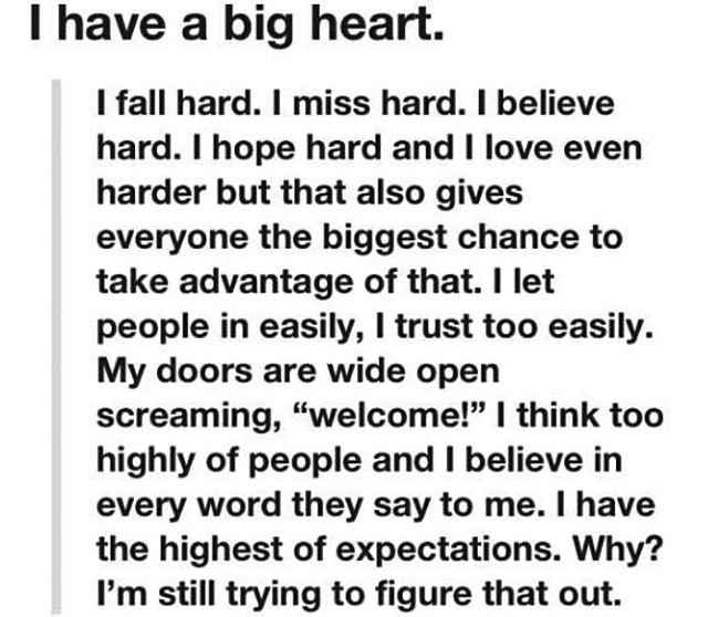Big Heart Quote 9 Picture Quote #1