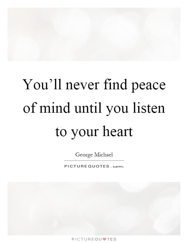 Finding Peace Quotes & Sayings   Finding Peace Picture Quotes