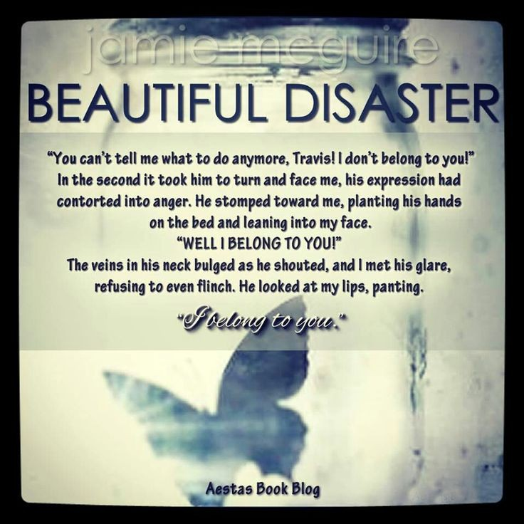 Beautiful Disaster Book Quote 1 Picture Quote #1