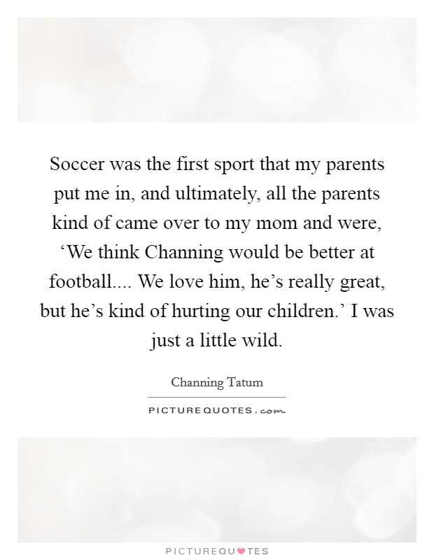 Football Moms Quotes & Sayings | Football Moms Picture Quotes