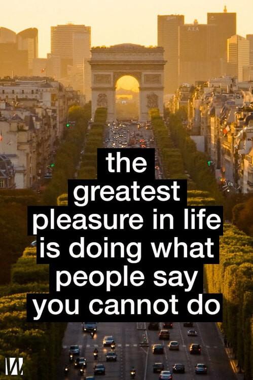 Greatest Pleasure Quote 1 Picture Quote #1