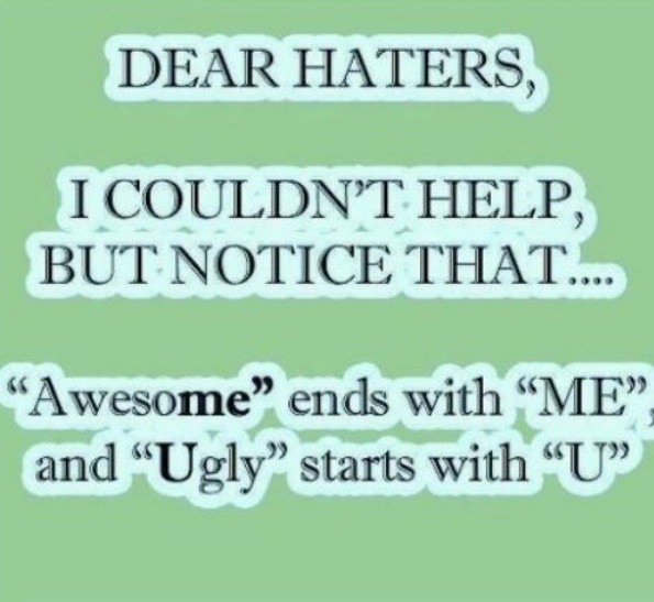 Funny Hater Quote | Quote Number 995500 | Picture Quotes