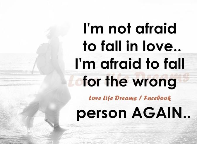Afraid Quote 2 Picture Quote #1
