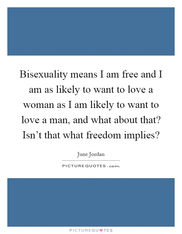 Bisexuality quotes and sayings