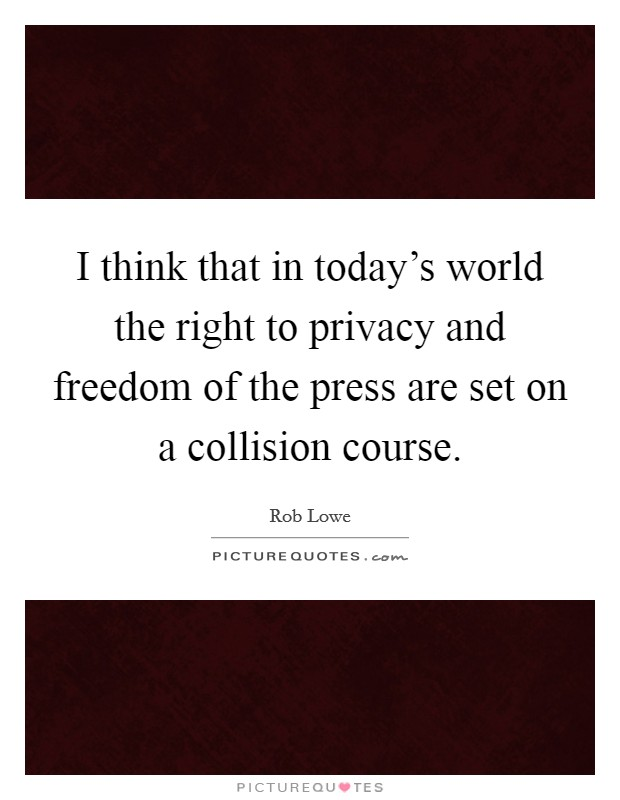 press freedom or privacy infringement Free press is committed to protecting your privacy online the free press staff are members too and we treat your privacy as we do our own.