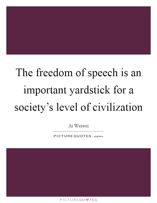 the importance of the freedom of speech in america More than two centuries after freedom of speech was enshrined in the first amendment to the constitution, that right is very much in the news campus speech codes, disinvited commencement speakers.
