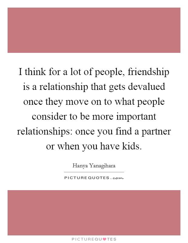 devalued in a relationship