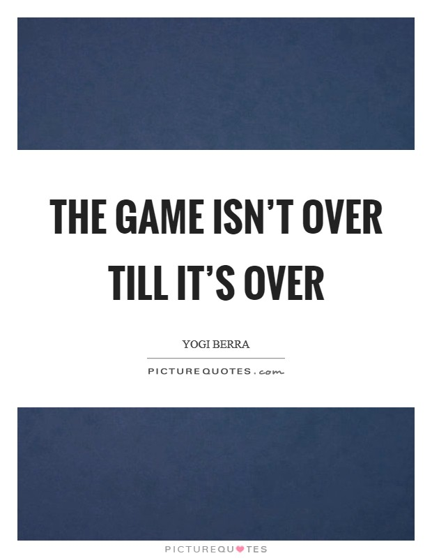 Game Over Quotes