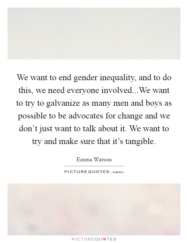 how to end gender inequality