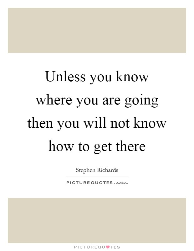 Unless you know where you are going then you will not know for How to get quotes