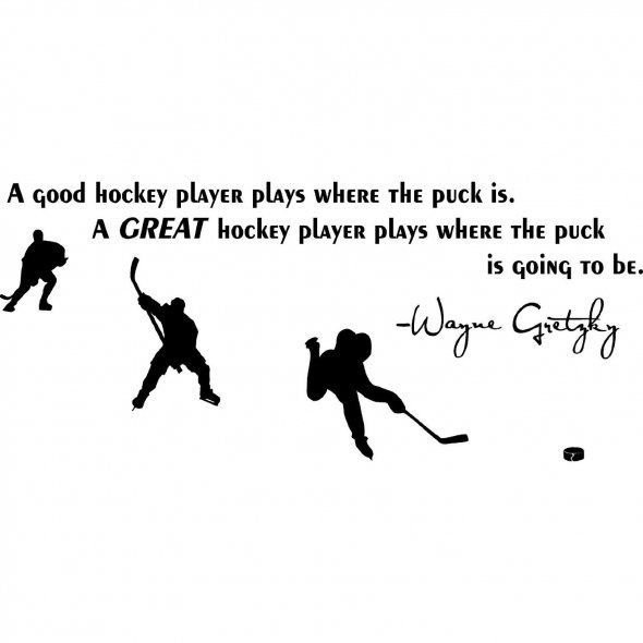 Famous Hockey Quote 1 Picture Quote #1