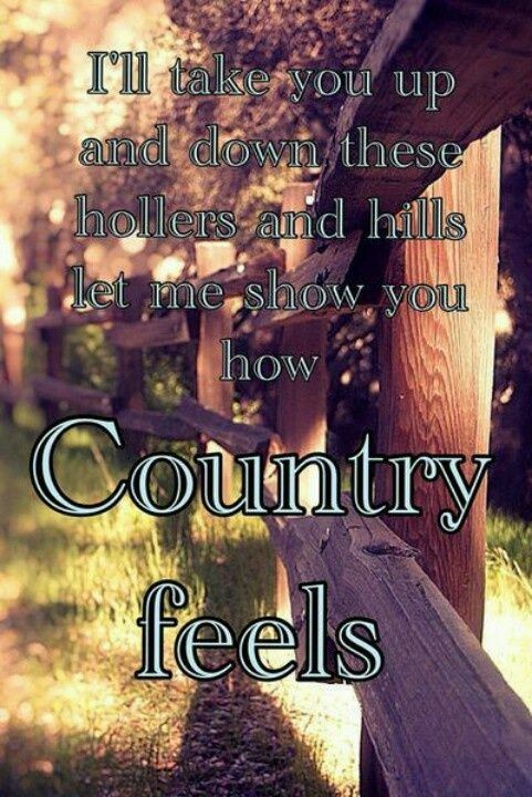 Country Life Quote 1 Picture Quote #1