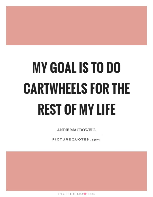 The Goal of My Life: A Memoir