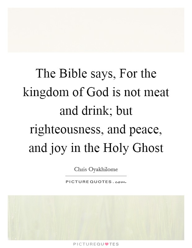 Righteousness Peace And Joy Chords - worshipchords.com