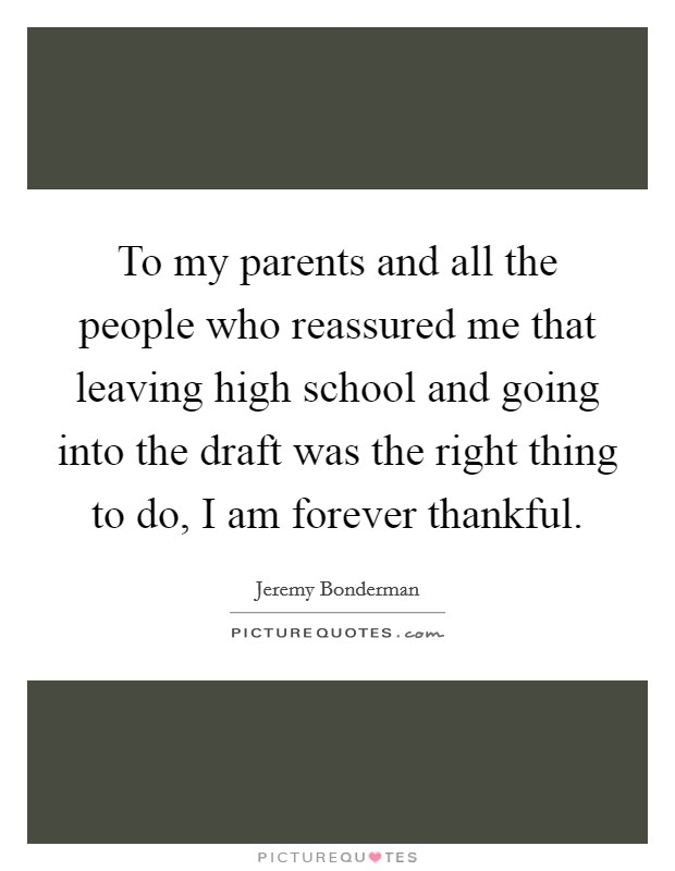 To my parents and all the people who reassured me that ...