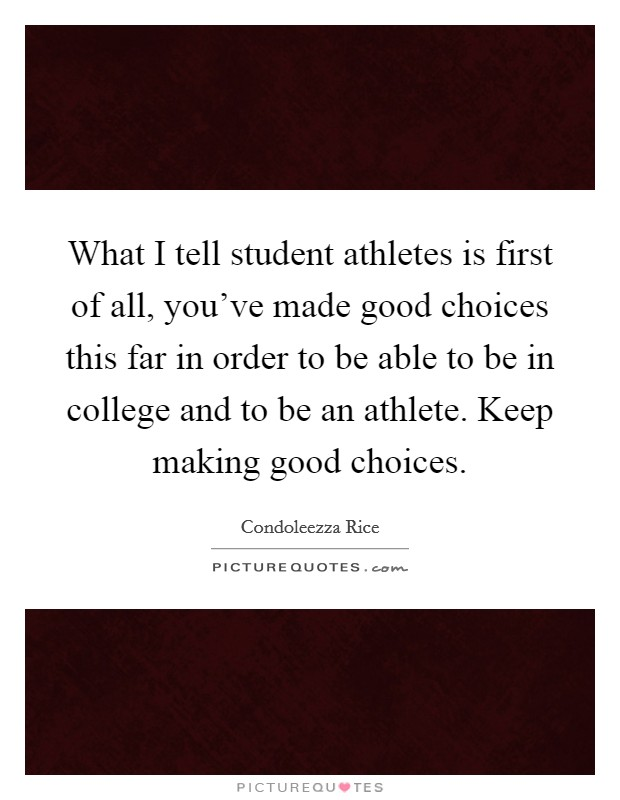 a study of being a successful college athlete One of the main perks of being a student-athlete is the chance to get scholarships  that  grant scholarships to athletes, but they need to be based on academic  success  for more study abroad tips check out our other blogs.