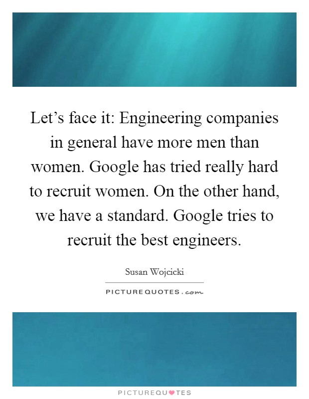 Women seeking men engineers