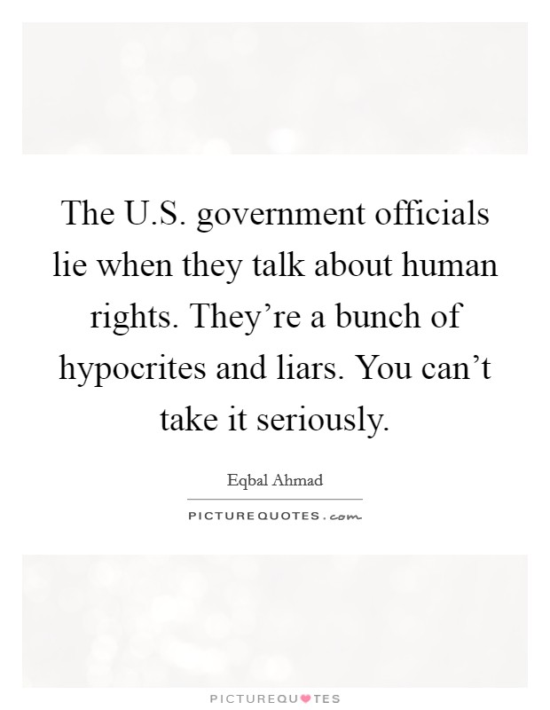 "when can government officials lie Watch video so after a long career as a government  ""while we can't put  ""i commend mr schwab for speaking the truth while under intense pressure to lie."