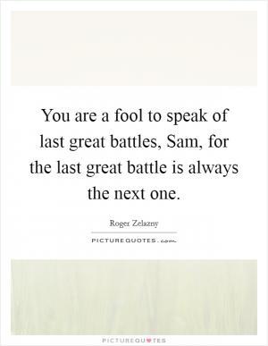 roger zelazny quotes