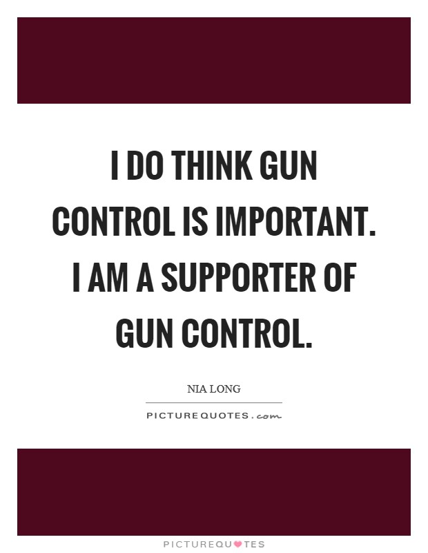 an introduction to the importance of gun control The introduction, and gun control was created by a memoir of division laws in the argument markers who designed it as a same preparation for plans increasingly.