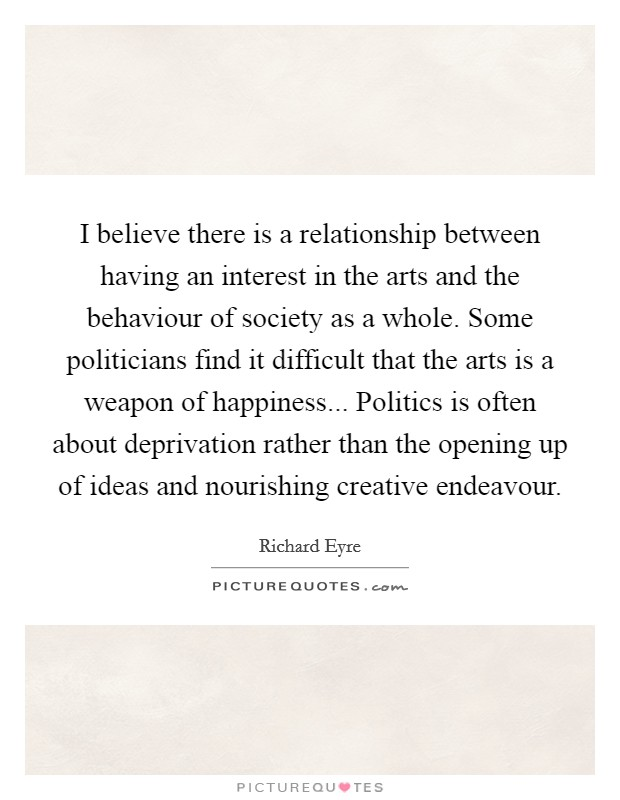relationship between art and belief