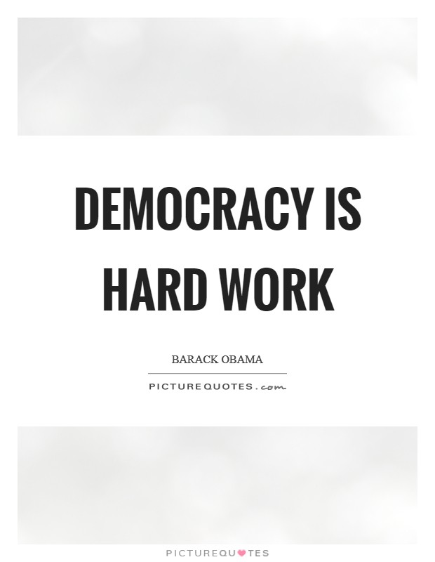 is democracy working How does democracy watch work democracy watch's mandate is set out as 20  steps towards a modern, working democracy the 20 steps are changes that.