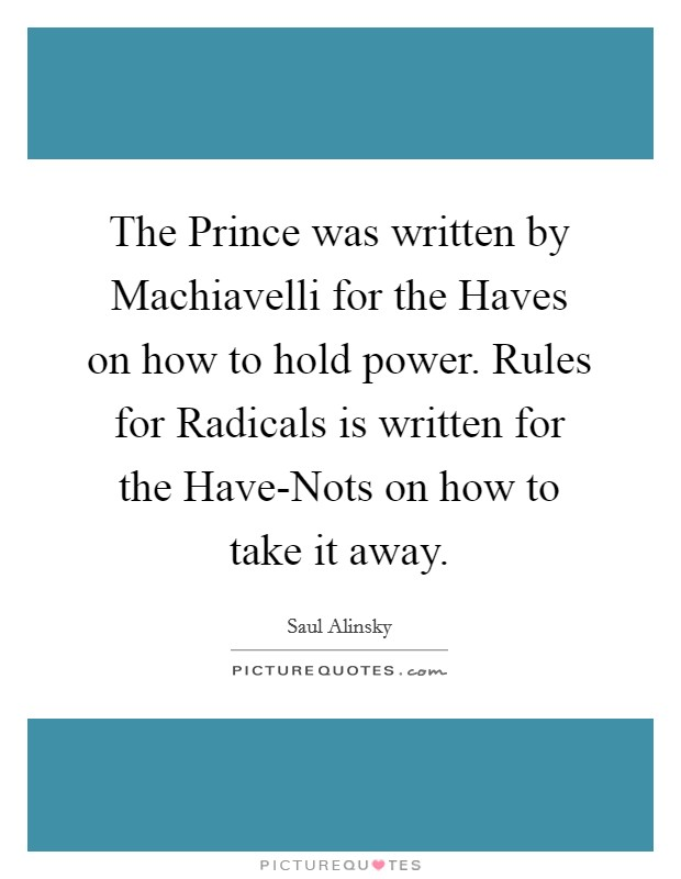 the prince written by