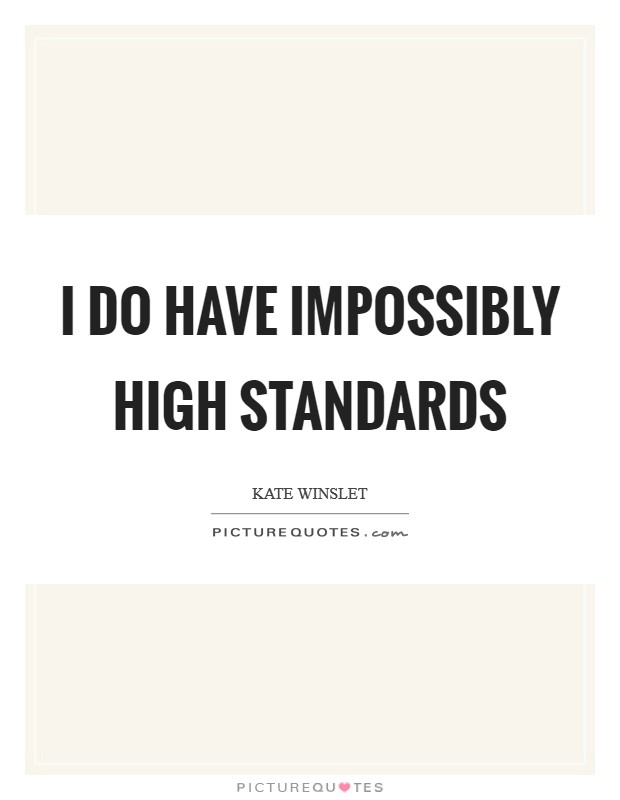 Standards having high quotes about 15 Greatest