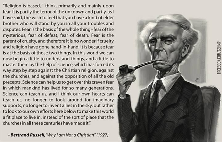 Bertrand Russell Quote Christianity 2 Picture Quote #1