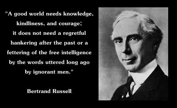 Bertrand Russell Quote On Religion 3 Picture Quote #1