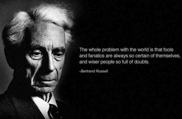 Bertrand Russell Quote On God 1 Picture Quote #1