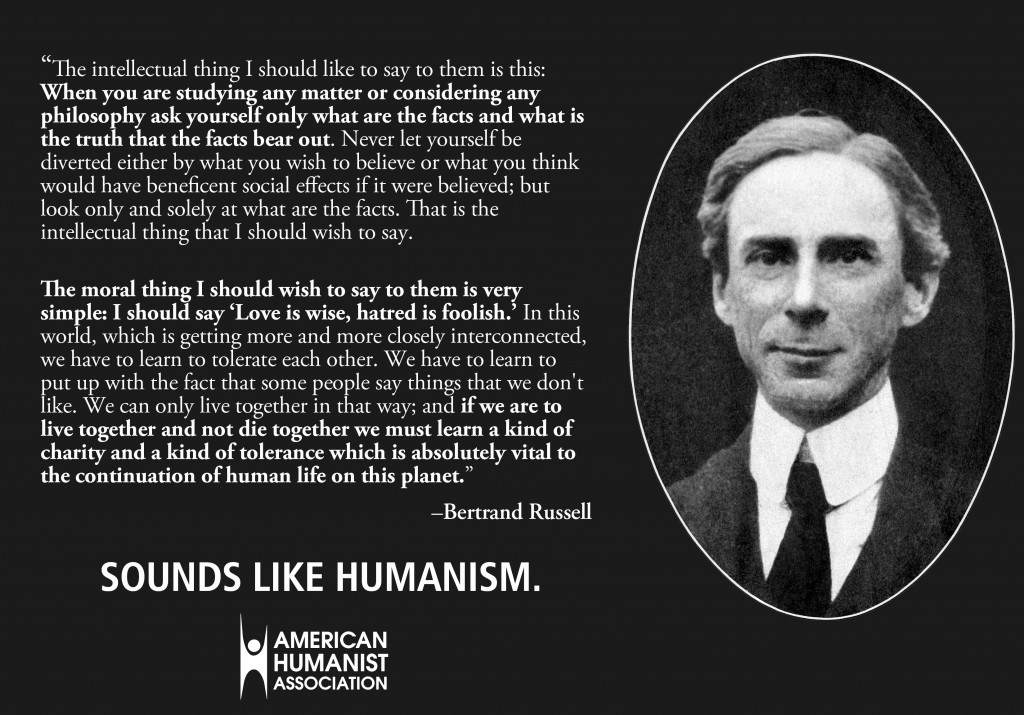 Bertrand Russell Quote On God 2 Picture Quote #1