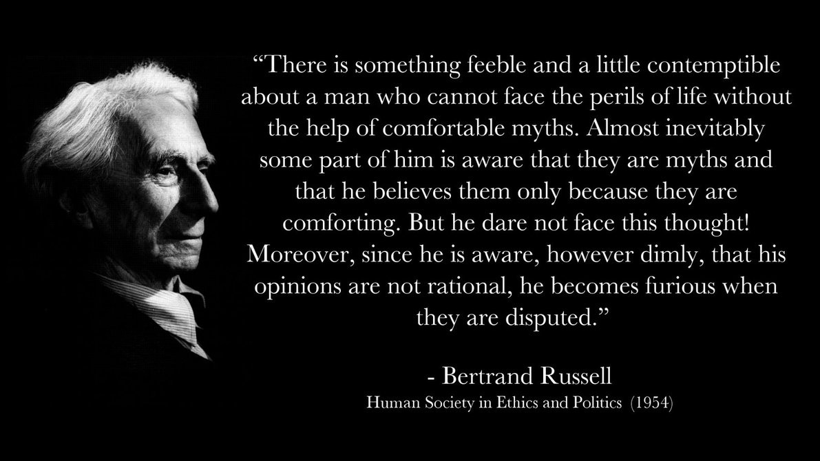 Bertrand Russell Quote On God 3 Picture Quote #1