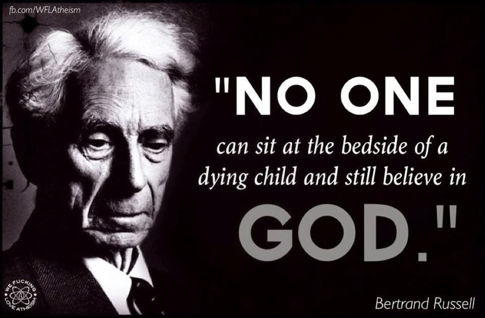 Bertrand Russell Quote On God 5 Picture Quote #1