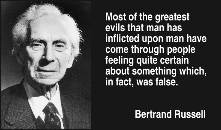 Bertrand Russell Quote On Religion 5 Picture Quote #1