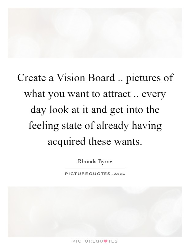 Vision Board Quotes & Sayings   Vision Board Picture Quotes