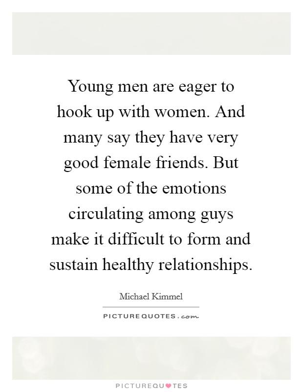 Hook up emotions