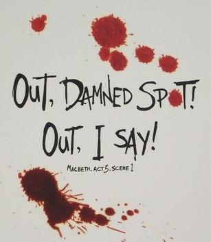Image result for out damned spot
