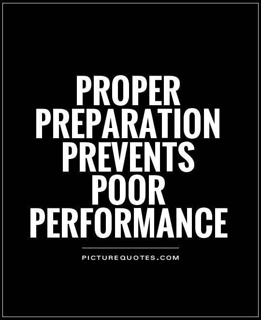Image result for quotes on preparation