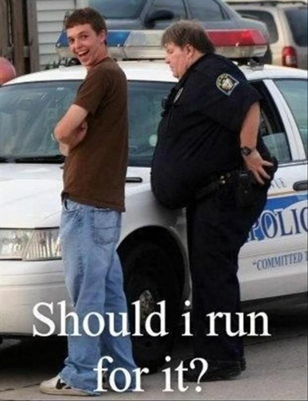 Should I run for it? | Picture Quotes