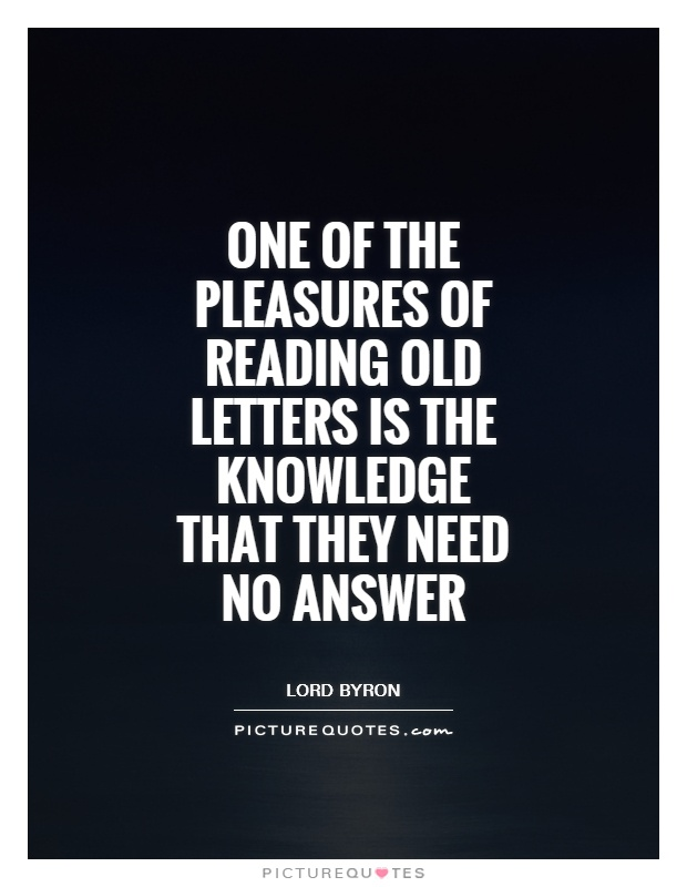 Old Letters Quotes & Sayings