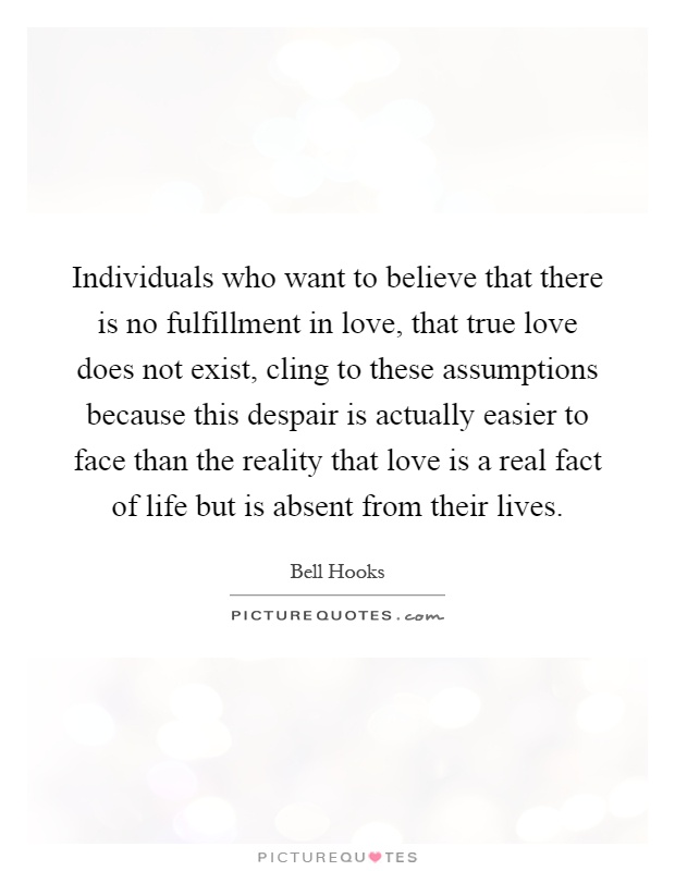 essay real love does not exist