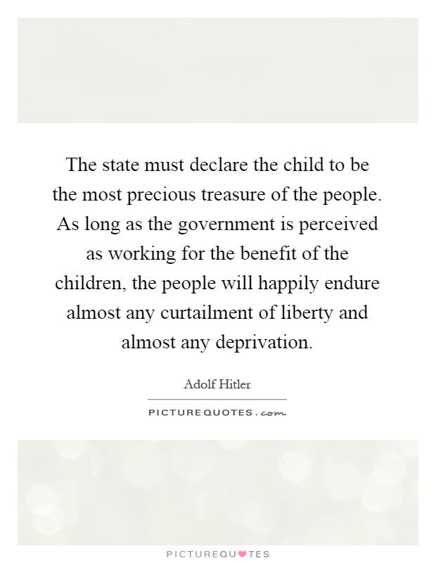 Lyric my most precious treasure lyrics : The state must declare the child to be the most precious ...