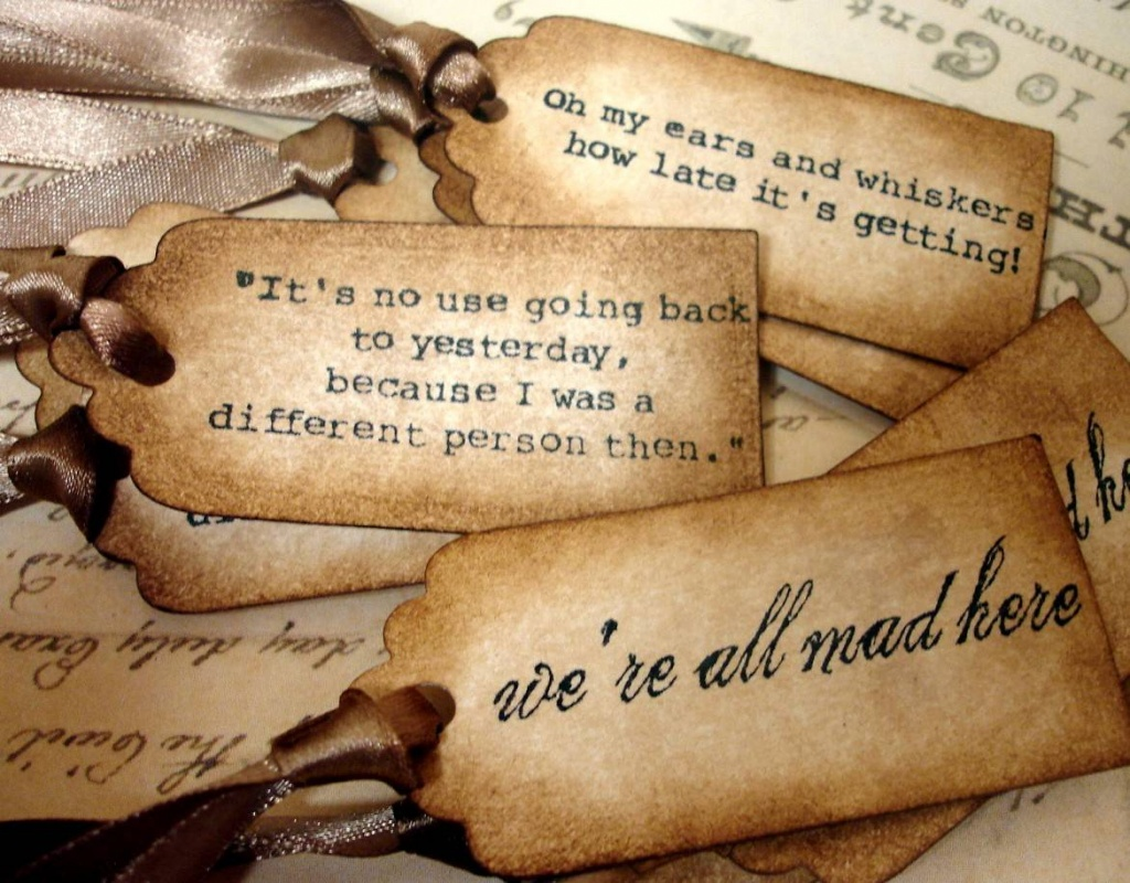 Alice In Wonderland Famous Quotes Sayings Alice In Wonderland