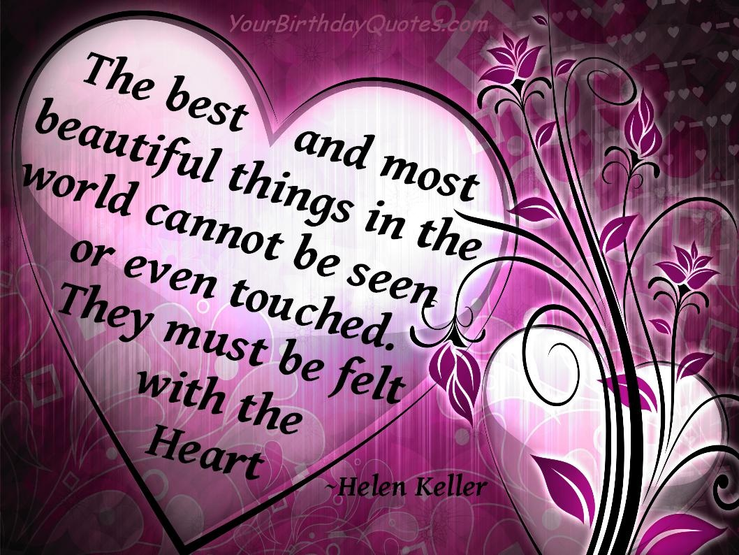 Beautiful Heart Quotes & Sayings  Beautiful Heart Picture Quotes